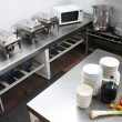 Restaurant Kitchen — Foto de Stock