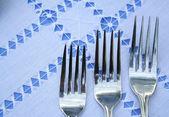Three forks — Stock Photo