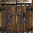Wooden door - Foto Stock