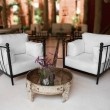 Stock Photo: Outdoors living room