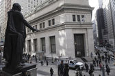 The Wall Street area — Foto Stock