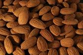 Almond background — Stock Photo