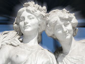 Two Muses — Stock Photo