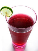 Glass of sangria — Stock Photo