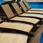 Resort pool — Stock Photo