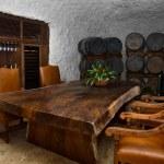 ������, ������: Wine cellar dinning space