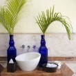 Bathroom decoration - Foto Stock