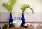 Bathroom decoration — Foto Stock