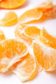 Mandarin wedges — Stockfoto