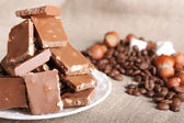Chocolate still-life — Stock Photo