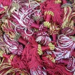 Stock Photo: Plumes fabric