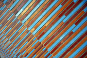 Diagonal with colored stripes — Stockfoto