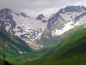 Complejo de montaña glaciar — Foto de Stock