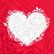 Valentines abstract background — Stockvectorbeeld