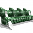 Stock Photo: Sofa