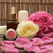 Stock Photo: Spa products
