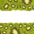 Background of ripe kiwi — Stock Photo