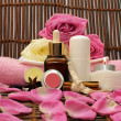 Stock Photo: Spa cosmetics