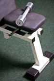 Gym hardware — Stockfoto
