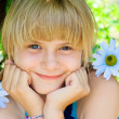 Portrait of a young girl - Foto Stock