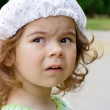 Royalty-Free Stock Photo: The emotionaly little girl