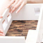 Apartment breadboard model in scale — Stock Photo