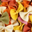 Farfalle pasta food background — Foto de Stock