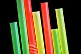 Drinking straws — Stock Photo