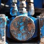 Industrial metal machine — Stock Photo #1762437