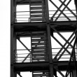 Industrial staircase — ストック写真