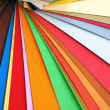 Stock Photo: Paper color spectrum