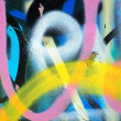 Graffiti background - Stock fotografie