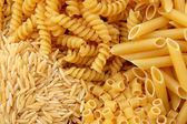 Pasta verscheidenheid — Stockfoto