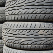 Stock Photo: Rubber tires