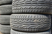 Rubber tires — Stock Photo