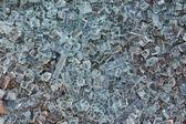 Vidrio destrozado — Foto de Stock