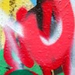 Graffiti layers — Stock Photo