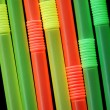 Straws background — Stock Photo