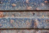 Rusty radiator grill — 图库照片