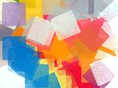 Pinceles cuadrados — Foto de Stock