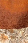 Stone and metal texture — Stock Photo