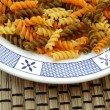Fusilli background — Stockfoto