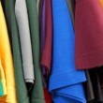 Short sleeved t shirts — Stock Photo