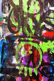 Graffiti street art — Stock Photo