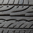 Photo: Rubber tire macro