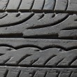 Foto Stock: Rubber tire macro