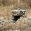 Ancient stone well — Stock Photo