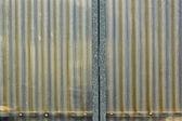 Corrugated plastic texture — Stock Photo