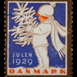 Christmas postage stamp — Stock Photo #2459387