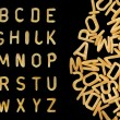 Photo: Alphabet soup pastfont